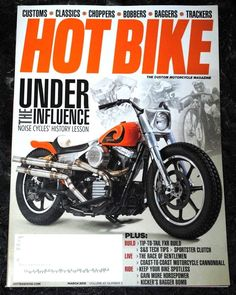 Hot bike magazine july 2017 horsepower issue history of the digger motorcycle monthly magazine back issues in english fandeluxe Images