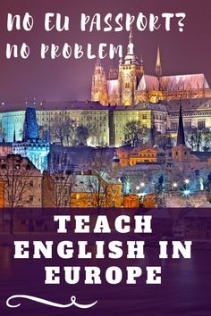 Teach English in Europe without an EU passport - read stories of TEFL teachers working in Spain, Bulgaria and other countries who don't hold an EU passport Migrate To Canada, Freedom Travel, Traveling Teacher, Round The World Trip, Europe Continent, Work Abroad, Travel Advice, Travel Tips, Think