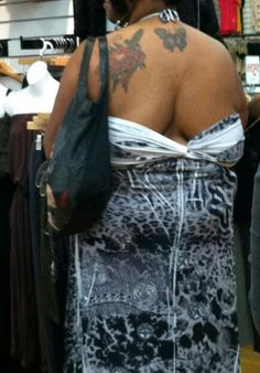 I agree with Tosh.0..it's never good if your backside looks like this!