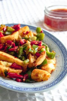 Quick and easy recipe for to delicious takeaway style Chinese salt and pepper chips at home, using oven chips and fresh chilli. Slimming World Speed Food, Salt And Pepper Chips, Actifry Recipes, Chinese Takeaway, Speed Foods, Cooking Recipes, Healthy Recipes, Steak Recipes, Health Dinner