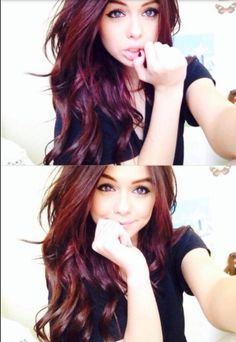 Perfection red and brown hair