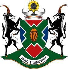 World Civic Heraldry - web guide for national, regional and urban heraldry worldwide. North-West province (South Africa), coat of arms North West Province, Provinces Of South Africa, Democratic Election, Towards The Sun, Human Settlement, Annual Plants, Lost City, National Flag, Coat Of Arms