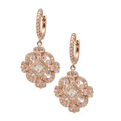 Rose gold and Diamonds. Available at www.yanina-co.com, 800-780-3433.