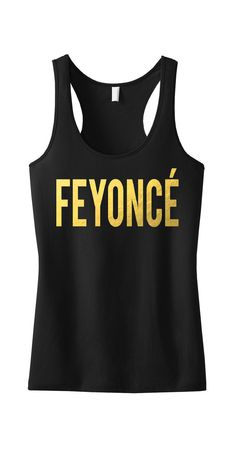 FEYONCE Gold Foil Tank Top, Bride Tank Top, Wedding Tank, Bridal Tank Top, Mrs, Feyonce shirt, Fiance