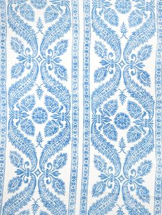 0513807 Chapelle Delft by Vervain Designer Fabric - Linen USA see fabric sample Horizontal: 27 inches and Vertical: 36 inches 54 inch min (See samples) - Swanky Fabrics - Textile Patterns, Print Patterns, Textiles, Fabric Design, Pattern Design, Traditional Fabric, Traditional Design, Home Decor Fabric, Fabric Samples
