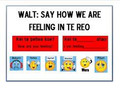 School Resources, Teaching Resources, Maori Songs, Teaching Displays, Maori Designs, Action Words, Teaching Aids, Feelings And Emotions, Toddler Activities