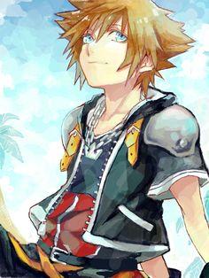 Sora... Kingdom Hearts so many good memories