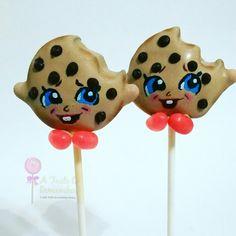 Kooky Cookie Shopkins cake pops