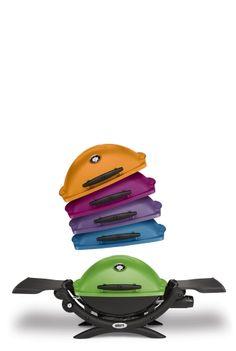 Reeeegenbogen: Der Weber Q® 1200 ist in stylischen Trendfarben erhältlich