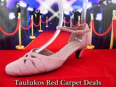 Womens #shoes #NATURALIZER #Strappy #Rosewood #Pink #Suede #LEATHER Ankle Strap High #Heels #pumps 6 M