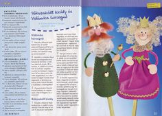 fakanálbábok - Eszter Toth - Picasa Webalbumok, wooden spoon puppet Halloween Christmas, Christmas Holidays, Christmas Ornaments, Projects For Kids, Crafts For Kids, Spoon Craft, Wooden Spoons, Diy Toys, Puppets