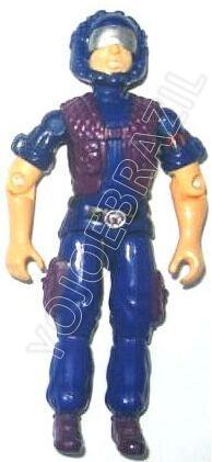 Descrição:   O Cobra Telecomunicações (Tele-Viper) foi lançado no Brasil em 1991 (Série 8) pela companhia de Brinquedos Estrela, a figura corresponde ao modelo swivel arm (com movimento nos cotovelos). Trata-se da versão nacional do Cobra Communications [Tele-Vipers] fabricado em 1985 pela Hasbro pela série G.I. JOE.