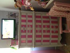Eloise inspired dresser i painted for Zoe girl! :)