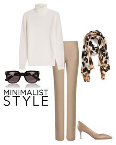 """""""Untitled #2939"""" by injie-anis ❤ liked on Polyvore featuring Joseph, Michael Kors, Valentino, Tom Ford and Collection XIIX"""