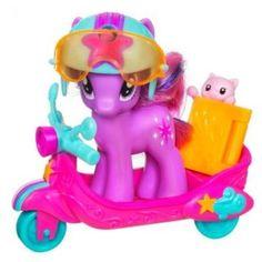 My Little Pony su skateboard, scooter e triciclo con Twilight Sparkle, Rainbow Dash e Fluttershy