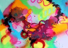Billedresultat for farverige malerier