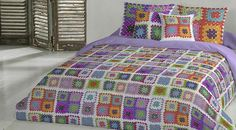 Crochet Bedspread Pattern, Bed Spreads, Comforters, Blanket, Iris, Furniture, Home Decor, Farmhouse Rugs, Throw Pillows