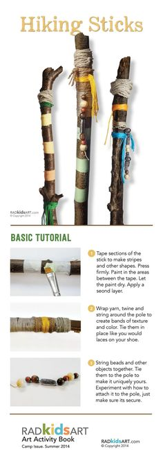 http://teds-woodworking.digimkts.com/ The wife will love this when I make it myself simple woodworking DIY Hiking Sticks #woodworkingideas