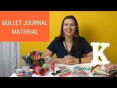 Kalinka Carvalho- Blog - Vídeo: materiais que uso no bullet journal