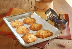 Marmalade and Macadamia Biscuits - Maggie Beer