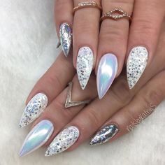 http://amzn.to/2F9gkbz 7ML Nail Polish Pretty Holographic Holo Glitter Gel Polish Nail Art Holographic (F)