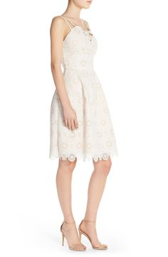 Elliatt 'Many Moons' Lace Fit & Flare Dress
