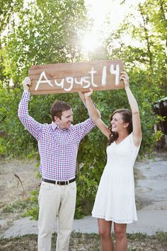 cute save the date