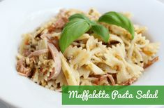This Muffaletta Pasta Salad is inspired by the New Orleans sandwich. You'll love the yummy olive salad and serves as a dressing in this quick and easy dish! Easy Taco Soup, Olive Salad, Pasta Salad, Sandwiches, Tacos, Dressing, Dishes, Inspired, Ethnic Recipes