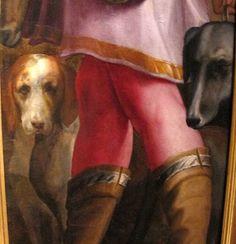 Pala dell'Immacolata Concezione dettaglio - GIORGIO VASARI (Arezzo, 30 luglio 1511 – Firenze, 27 giugno 1574) #TuscanyAgriturismoGiratola