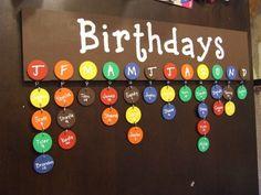 unique birthday calendar