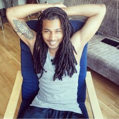 Natural Hair Styles and Fashion — thenaturaltransition: HAPPY LOC. Dreadlocks Men, Locs, Sisterlocks, Twists, Dreadlock Hairstyles For Men, Braid Hairstyles, Style Afro, Natural Hair Styles, Long Hair Styles
