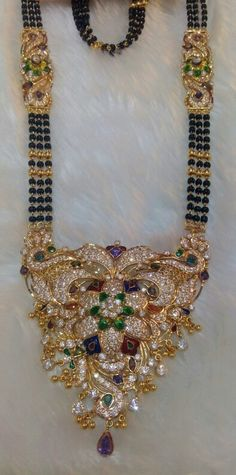 Mangalsutra for bride made by Dulhan Jewellers Pali Call 9828283403
