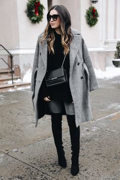 Winter agrees with Greys. Women's Fashion | Winter Outfits | Cold | City Fashion | Winter Coat