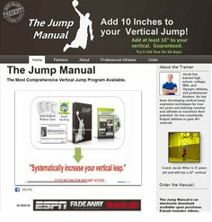 The way to Jump Higher And Raise your Vertical While using the Jump Manual By Jacob Hiller