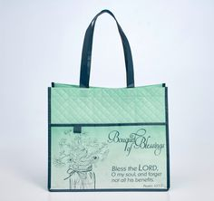 Bouquet of Blessings Tote Bag