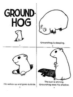 Groundhog Coloring Pages. The groundhog is the largest animal in the squirrel family and, like them, is a rodent. See our latest groundhog coloring pages here. Preschool Groundhog, Groundhog Day Activities, Happy Groundhog Day, Holiday Activities, Craft Activities, Animal Coloring Pages, Coloring Pages For Kids, Free Coloring, Coloring Sheets