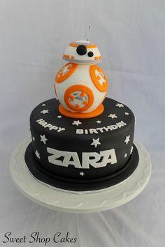 Star Wars BB-8 birthday cake