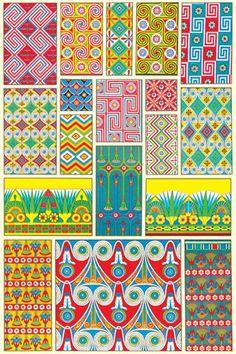 Egyptian Design #2  Fine-Art Print