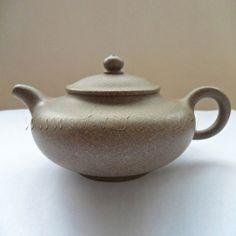 Antique Handmade Clay Teapot