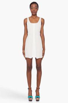 RAG & BONE Ivory Tone Paneled Dress