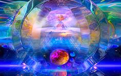 The Divine Light Of Consciousness Shines Light To Darkness