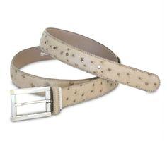 the Mac genuine ostrich leather belt from Via La Moda Fashion Bags, Mac, Belt, Classic, Leather, Accessories, Style, Belts, Fashion Handbags