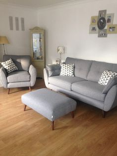 Zinc 4-seater and 2-seater in charcoal I#mydfs I http://www.dfs.co.uk/zinc/4-seater-sofa-zinc#ampViewer I @fcofficial