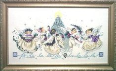 Grid embroidery cross stitch Christmas Mirabilia Crystal Embroidery in Universe Cross Stitch Fairy, Cross Stitch Angels, Cross Stitching, Cross Stitch Embroidery, Cross Stitch Numbers, Crystal Embroidery, Stitch 2, Christmas Cross, Xmas