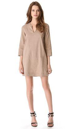 GET MK'S LINEN DRESS LOOK