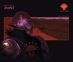 House Corrino: The Sardaukar by Deimos-Remus on DeviantArt Dune Characters, Dune Film, Dune Book, Dune Series, Dune Frank Herbert, Dune Art, Witch Face, First Novel, Love Painting