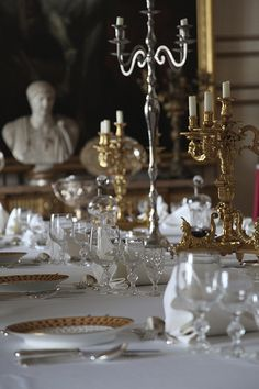 Warwick Castle: Dining room | A table set for dinner in Warw… | Flickr