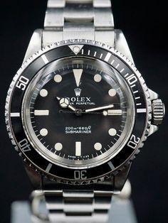 1968 Rolex Submariner (Ref. 5513) Meters First