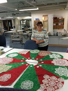 Doily Tree Skirts Or Could Use Crocheted Snowflakes