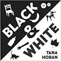 L-I/533. Black & white / Tana Hoban. New York : Greenwillow Books, 2007. Nunca é demasiado pronto para mirar e falar xuntos! Perfecto para bebés desde o nacemento ata os dous anos! Este libro pregable estilo acordeón é o suficientemente resistente como para sosterse só, e ten o tamaño perfecto para mans pequenas.